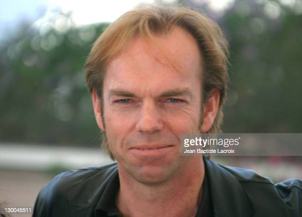 Hugo Weaving during 2003 Cannes Film Festival 'Matrix Reloaded' Photo Call at Palais des Festivals in Cannes France