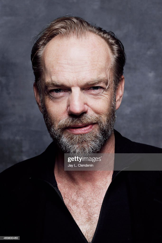 Hugo Weaving is photographed for Los Angeles Times on January 24, 2015 in Park City, Utah. PUBLISHED IMAGE.