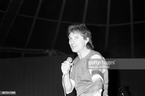 Hugues Aufray en juillet 1976 à Paris France