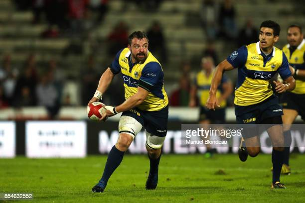 Hugues Bastide of Nevers during the French Pro D2 match between Dax and Nevers on September 22 2017 in Dax France