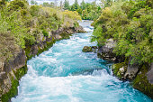 Huka Falls in New Zealand