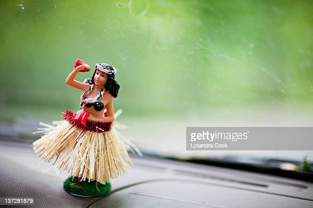 Hula dancer on dashboard