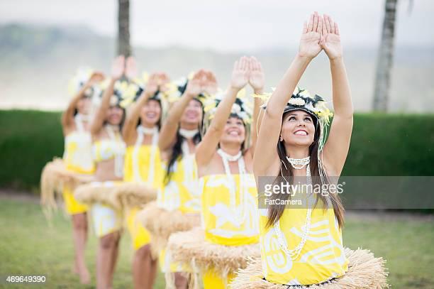 Dançar Hula tradição