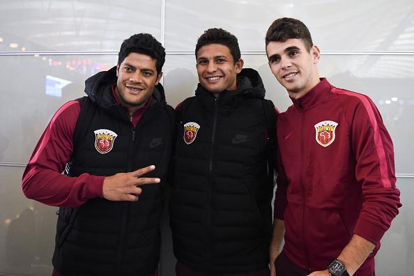 Shanghai SIPG F.C. Leave Shanghai For Doha Training Camp : News Photo