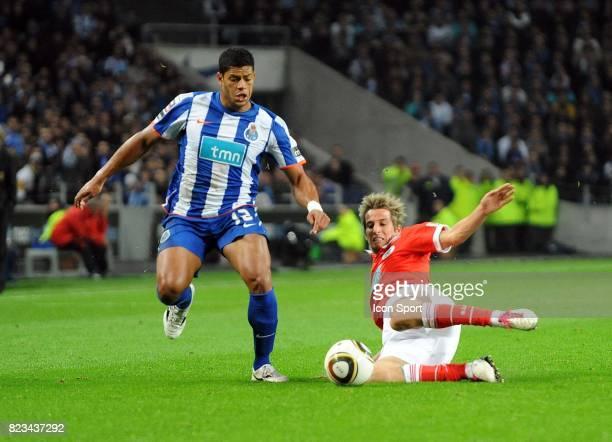 Hulk / Fabio Coentrao FC Porto / Benfica 10e Journee Championnat du Portugal