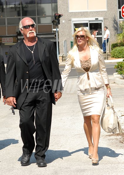 Hulk Hogan And His Girlfriend Jennifer Mcdaniel Leave The Courthouse