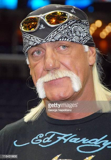 Hulk Hogan at the Fed Ex Forum in Memphis
