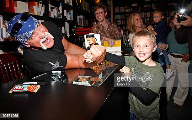 Hulk Hogan attends Hulk Hogan Signs Copies Of 'My Life Outside The Ring' At Book Soup at Book Soup on November 6 2009 in West Hollywood California