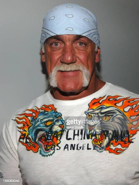 Hulk Hogan during 2005 Billboard Music Awards Grand Opening of The Studio at the Palms Hotel at Palms Hotel in Las Vegas Nevada United States