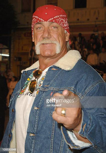 Hulk Hogan during 'Get Rich Or Die Tryin'' Los Angeles Premiere Arrivals at Grauman's Chinese Theater in Hollywood California United States