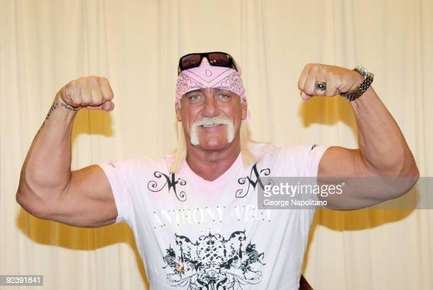 Hulk Hogan promotes 'My Life Outside The Ring' at Barnes Noble 5th Avenue on October 27 2009 in New York City