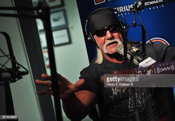 Hulk Hogan visits SIRIUS XM Studio on March 3 2010 in New York City