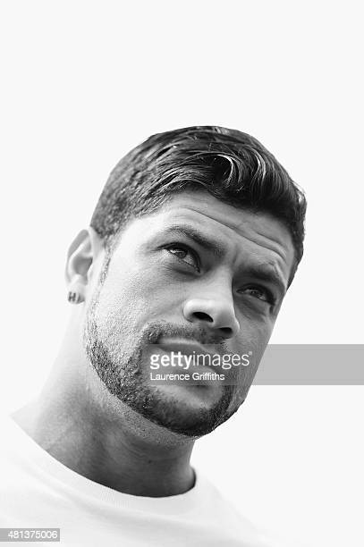 Hulk of FC Zenit Saint Petersburg speaks to the media during a press conference at the Zenit Training Centre during a media tour of Russia 2018 FIFA...