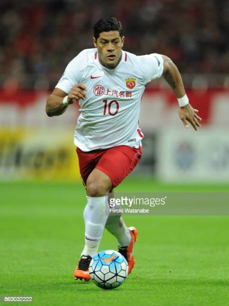 Hulk of Shanghai SIPG in action during the AFC Champions League semi final second leg match between Urawa Red Diamonds and Shanghai SIPG at Saitama...