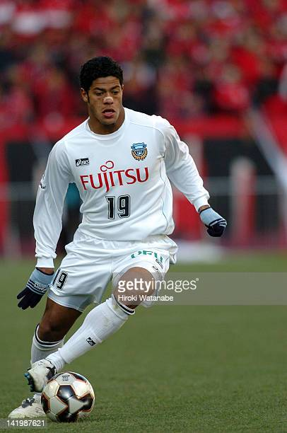 Hulk whose real name is Givanildo Vieira de Souza of Kawasaki Frontale in action during the 85th Emperor's Cup quarter final match between Urawa Red...