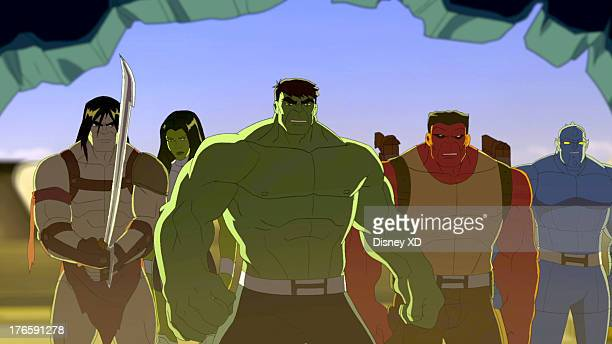 S HULK AND THE AGENTS OF SMASH 'HulkBusted' When the Leader hijacks Iron Man's Hulkbuster suits to destroy the Agents of SMASH the team and Iron Man...