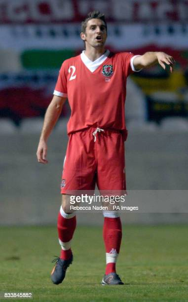 Hull City and Wales' Sam Ricketts during the UEFA European Championship Qualifying match at Neo GSP Stadium Nicosia Cyprus Picture date Saturday...