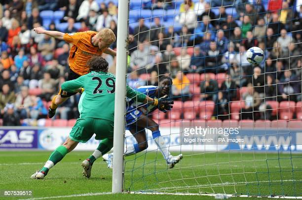 Hull City's Mark Cullen scores his sides second goal