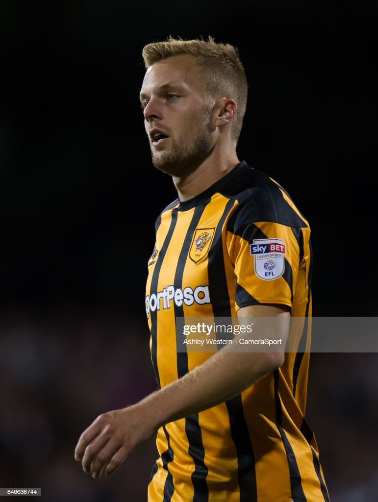 Hull City's Sebastian Larsson during the Sky Bet Championship match between Fulham and Hull City at Craven Cottage on September 13, 2017 in London, England.