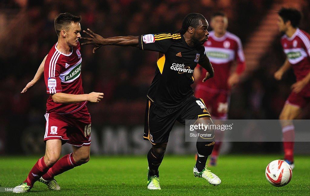 Middlesbrough v Hull City - npower Championship