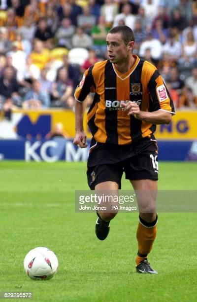 Hull's Damien Delaney in action against Oldham during their CocaCola League One match at the KC Stadium Stadium Hull THIS PICTURE CAN ONLY BE USED...