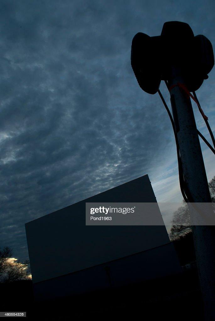 Drive-in do casco : Foto de stock