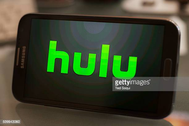 Hulu logo on a smartphone Hulu is an ondemand media streaming company