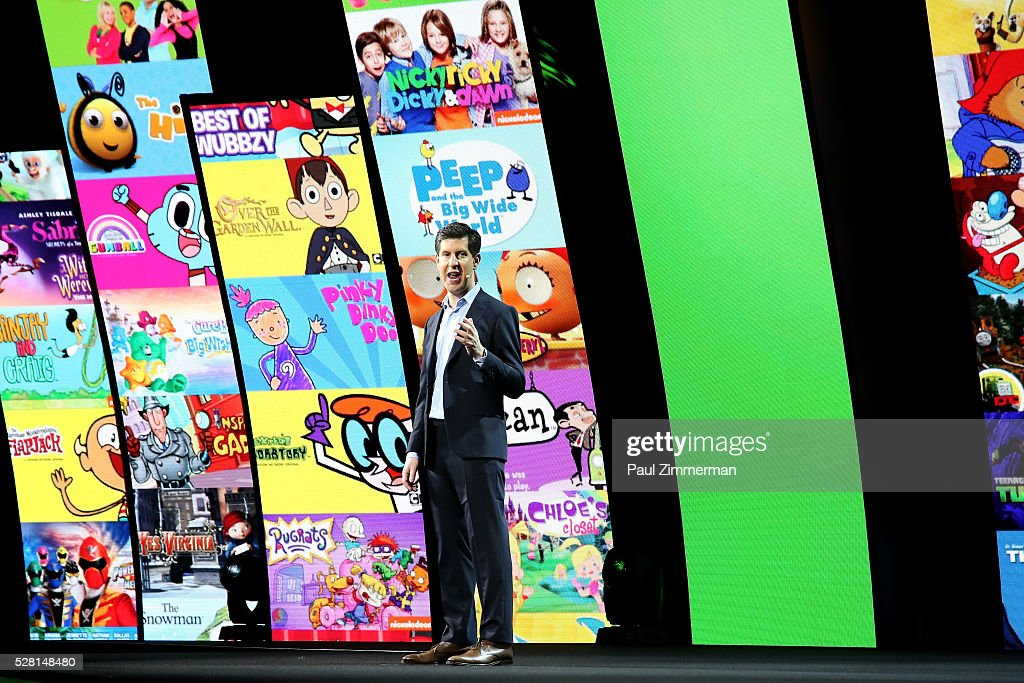 Hulu SVP Head of Content Craig Erwich speaks onstage at the 2016 Hulu Upftont on May 04, 2016 in New York, New York.