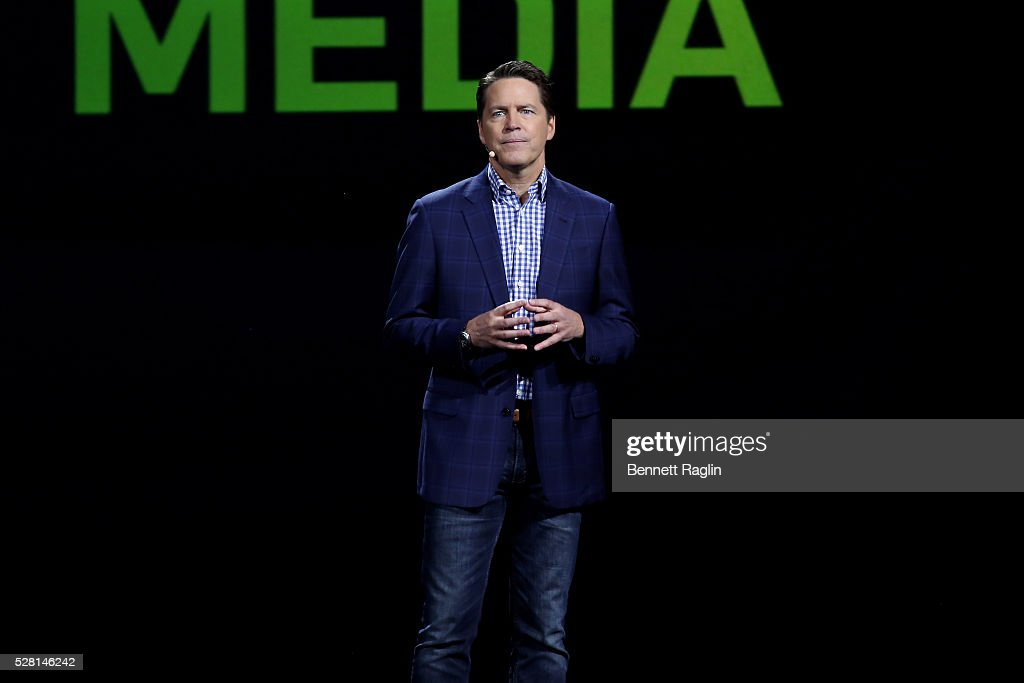 Hulu SVP of Sales Peter Naylor speaks onstage at the 2016 Hulu Upftont on May 04, 2016 in New York, New York.