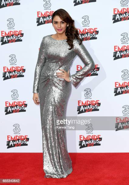 Huma Qureshi attends the THREE Empire awards at The Roundhouse on March 19 2017 in London England