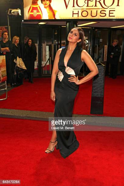 Huma Qureshi attends the 'Viceroy's House' UK Premiere on February 21 2017 in London England