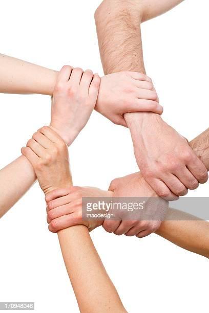 Les bras pour créer un groupe
