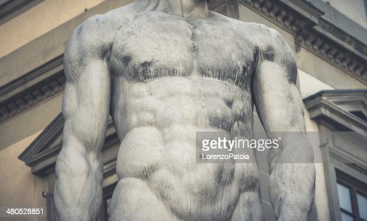 Corps humain, ancienne Statue italien : Photo
