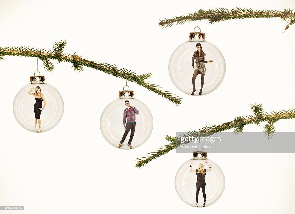 Human Christmas Ornaments.
