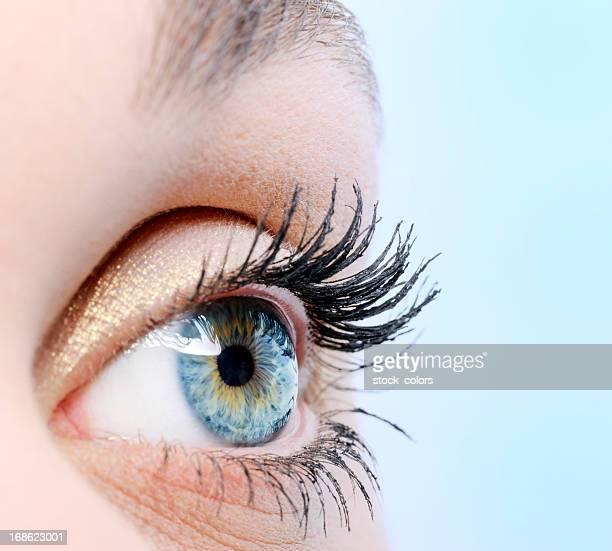 Menschliches Auge close-up