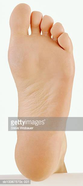 Human foot, view from below