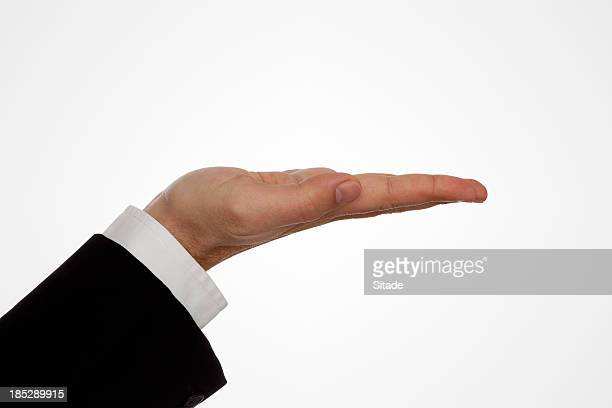 Human Hand With Clipping Path