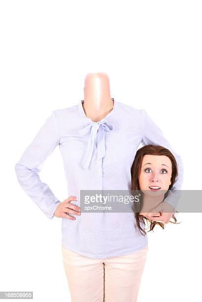 Menschliche Kleiderpuppe