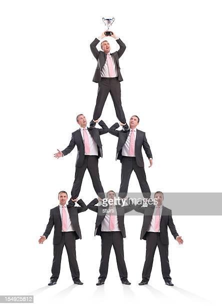 Pyramide humaine