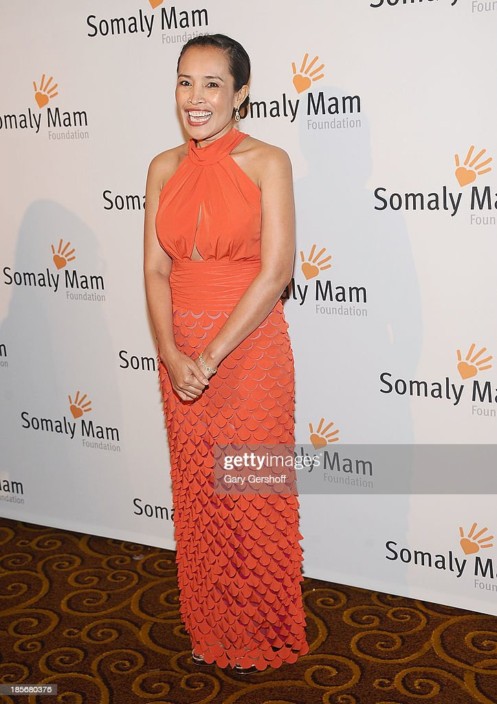 Human Rights activist <a gi-track='captionPersonalityLinkClicked' href=/galleries/search?phrase=Somaly+Mam&family=editorial&specificpeople=823347 ng-click='$event.stopPropagation()'>Somaly Mam</a> attends the <a gi-track='captionPersonalityLinkClicked' href=/galleries/search?phrase=Somaly+Mam&family=editorial&specificpeople=823347 ng-click='$event.stopPropagation()'>Somaly Mam</a> Foundation Gala at Gotham Hall on October 23, 2013 in New York City.