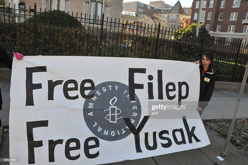 Amnesty International Rally For Filep Karma And Yusak ...