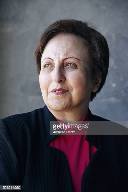 Human Rights Lawyer and Iran's first female judge Nobel Laureate and Aurora Prize Selection Committee Member Dr Shirin Ebadi attends the Aurora...