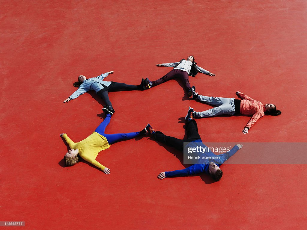 Human star : Stock Photo
