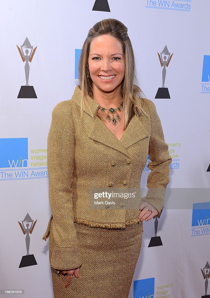 Humanitarian Award Honoree Maria Arena Bell attends the 14th Annual Women's Image Network Awards at Paramount Theater on the Paramount Studios lot on December 12, 2012 in Hollywood, California.
