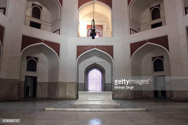 Humayun's cenotaph inside Humayun's Tomb