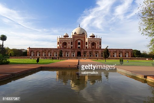 Humayun's Tomb, New Delhi, India.