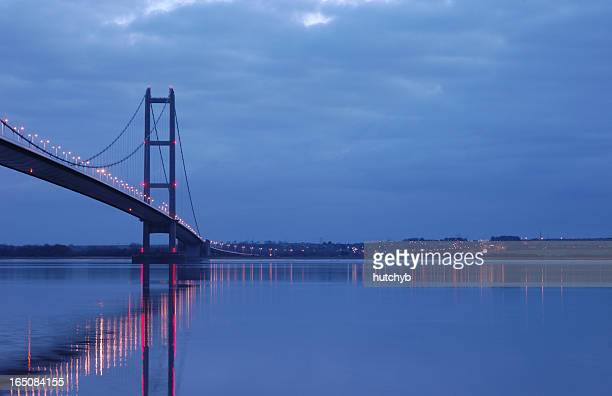 Humber Bridge at Night