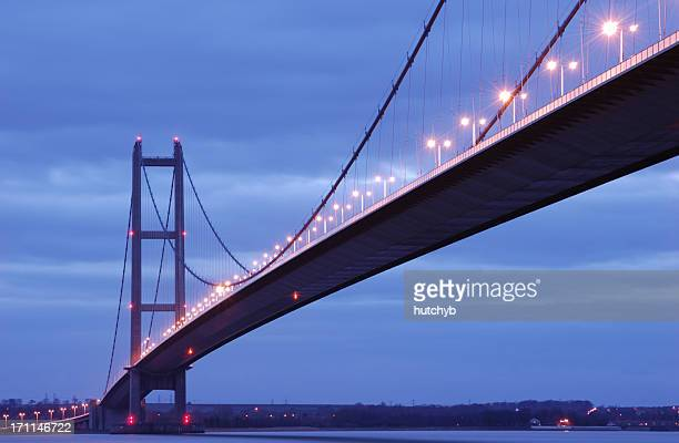 Humber Bridge at Twilight