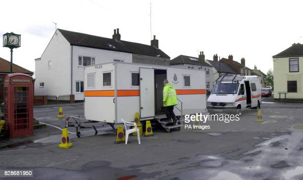 Humberside Police set up an incident HQ outside the Crooked Billet pub in Owston Ferry North Lincolnshire from where 18yearold Laura Torn disappeared...