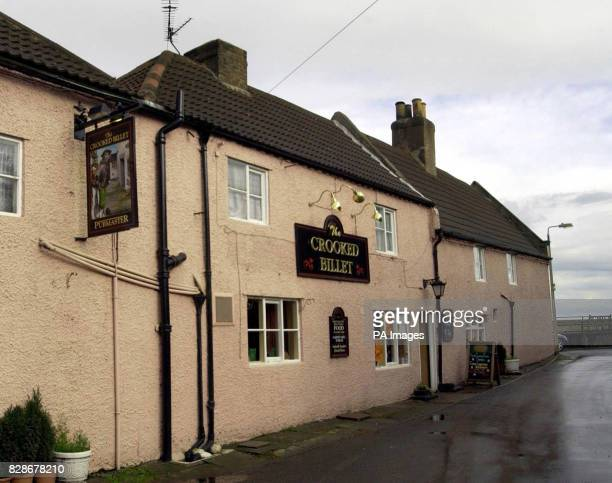 A Humberside Police van stands outside the Crooked Billet pub in Owston Ferry North Lincolnshire from where 18yearold Laura Torn disappeared in the...